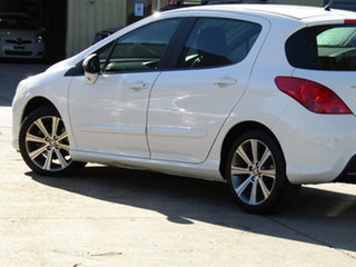 2012 Peugeot 308 T7 MY12 Active Alfa White 6 Speed Sports Automatic Hatchback