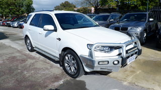 2013 Ford Territory SZ Titanium Seq Sport Shift AWD White 6 Speed Sports Automatic Wagon.