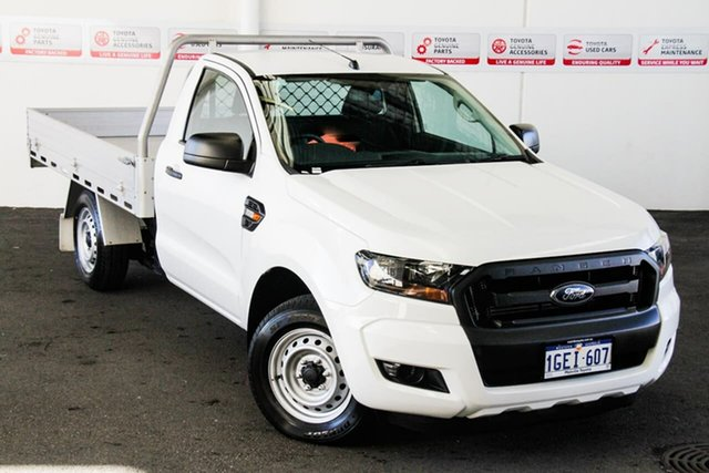 Pre-Owned Ford Ranger PX MkII XL 2.2 (4x2) Myaree, 2016 Ford Ranger PX MkII XL 2.2 (4x2) 6 Speed Manual Cab Chassis