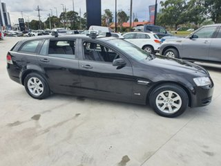 2011 Holden Commodore VE II MY12 Omega Sportwagon Black 6 Speed Sports Automatic Wagon.