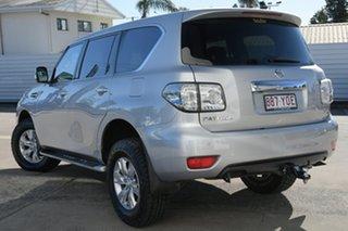 2013 Nissan Patrol Y62 ST-L Silver 7 Speed Sports Automatic Wagon.