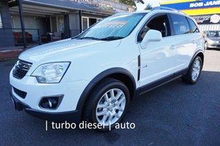2012 Holden Captiva CG Series II 5 AWD Olympic White 6 Speed Sports Automatic Wagon.