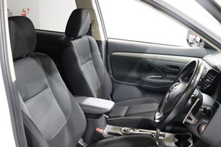 2013 Mitsubishi Outlander ZJ LS (4x4) White Continuous Variable Wagon