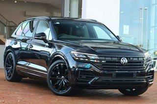 2021 Volkswagen Touareg CR MY21 210TDI Tiptronic 4MOTION Wolfsburg Edition Deep Black Pearl Effect.