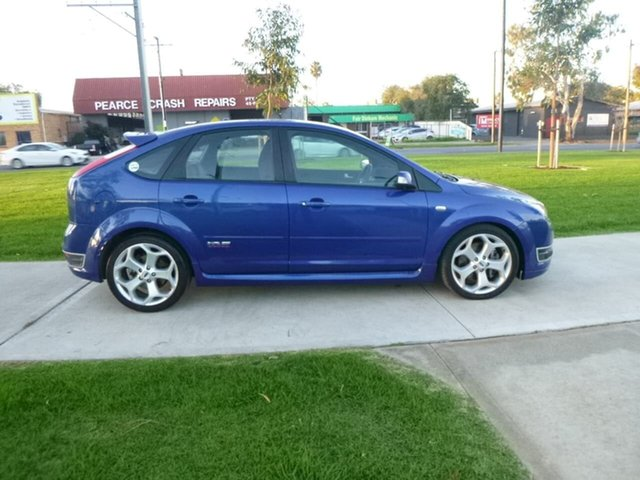 Used Ford Focus LS XR5 Turbo Beverley, 2007 Ford Focus LS XR5 Turbo Blue 6 Speed Manual Hatchback