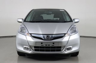 2014 Honda Jazz GE Hybrid Silver Continuous Variable Hatchback.