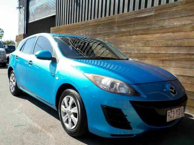 Used Mazda 3 BL10F1 MY10 Neo Activematic Labrador, 2011 Mazda 3 BL10F1 MY10 Neo Activematic Blue 5 Speed Sports Automatic Hatchback