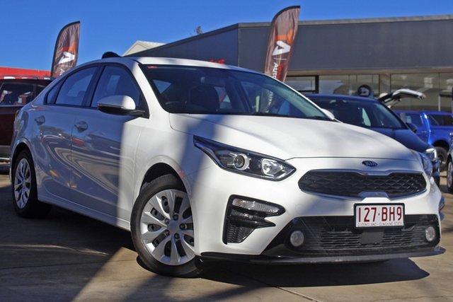 Used Kia Cerato BD MY20 S Toowoomba, 2019 Kia Cerato BD MY20 S White 6 Speed Sports Automatic Sedan