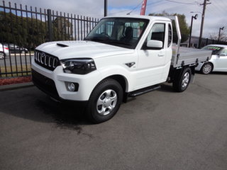 2021 Mahindra Pik-Up MY20 2WD S6+ White 6 Speed Manual Cab Chassis.