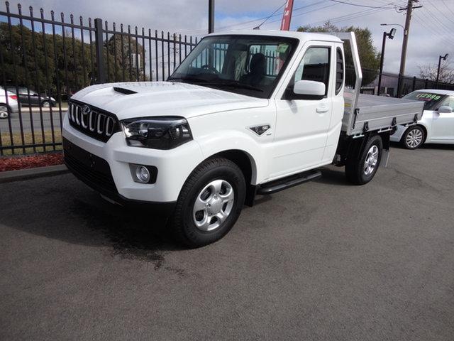 New Mahindra Pik-Up MY20 2WD S6+ Wagga Wagga, 2021 Mahindra Pik-Up MY20 2WD S6+ White 6 Speed Manual Cab Chassis