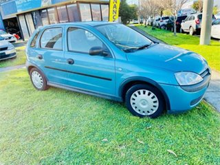 2001 Holden Barina XC SRi Blue 5 Speed Manual Hatchback
