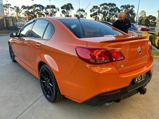 2014 Holden Commodore VF MY14 SV6 Orange 6 Speed Sports Automatic Sedan
