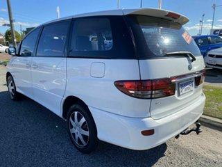 2003 Toyota Tarago ACR30R GLi White 4 Speed Automatic Wagon.