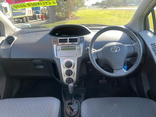 2009 Toyota Yaris NCP90R MY09 YR Black 4 Speed Automatic Hatchback