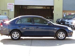 2003 Honda Civic 7th Gen MY2003 GLi Abyss Blue 4 Speed Automatic Sedan