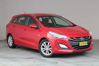 2014 Hyundai i30 GD Active Tourer Red 6 Speed Sports Automatic Wagon.