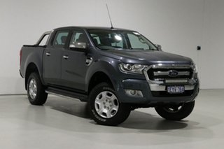 2016 Ford Ranger PX MkII XLT 3.2 (4x4) Metropolitan Blue 6 Speed Manual Double Cab Pick Up.