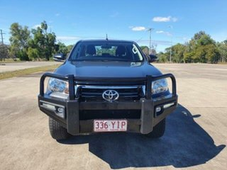 2018 Toyota Hilux GUN126R SR Double Cab Magnetic 6 Speed Sports Automatic Cab Chassis.