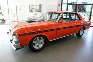 1970 Ford Falcon XY GT Red 4 Speed Manual Sedan