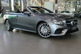 2017 Mercedes-Benz E-Class A238 E400 9G-Tronic PLUS 4MATIC Grey 9 Speed Sports Automatic Cabriolet.