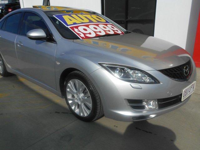Used Mazda 6 GH1051 Luxury Sports Springwood, 2008 Mazda 6 GH1051 Luxury Sports Silver 5 Speed Sports Automatic Hatchback