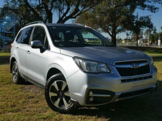 Used Subaru Forester MY18 2.0D-L Wangaratta, 2018 Subaru Forester MY18 2.0D-L Silver Continuous Variable Wagon