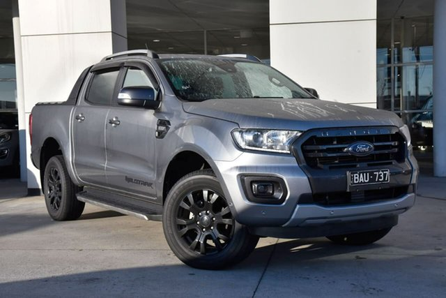 Used Ford Ranger PX MkIII 2019.00MY Wildtrak Oakleigh, 2019 Ford Ranger PX MkIII 2019.00MY Wildtrak Silver 6 Speed Sports Automatic Double Cab Pick Up