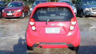 2013 Holden Barina Spark MJ MY13 CD Red 4 Speed Automatic Hatchback
