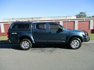 2013 Holden Colorado RG MY13 LX Crew Cab Blue 6 Speed Sports Automatic Utility.