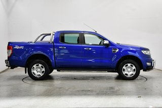 2017 Ford Ranger PX MkII XLT Double Cab Aurora Blue 6 Speed Sports Automatic Utility