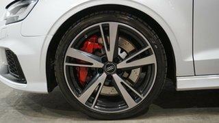 2017 Audi RS 3 8V MY18 S Tronic Quattro White 7 Speed Sports Automatic Dual Clutch Sedan