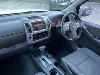 2011 Nissan Navara D40 ST White 5 Speed Automatic Utility