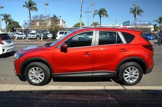 2016 Mazda CX-5 MY15 Maxx (4x2) Red 6 Speed Automatic Wagon