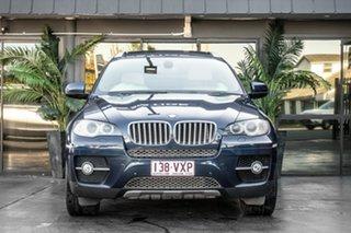 2008 BMW X6 E71 xDrive35d Coupe Steptronic Blue 6 Speed Sports Automatic Wagon.