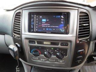 2006 Toyota Landcruiser UZJ100R GXL Black 5 Speed Automatic Wagon