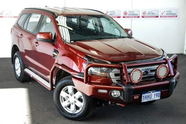 Pre-Owned Ford Everest UA Ambiente Rockingham, 2017 Ford Everest UA Ambiente Red 6 Speed Sports Automatic SUV