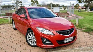 2012 Mazda 6 GH1052 MY12 Touring Red 5 Speed Sports Automatic Sedan.