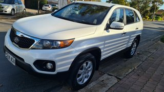 2012 Kia Sorento XM MY13 SI (4x2) White 6 Speed Automatic Wagon.