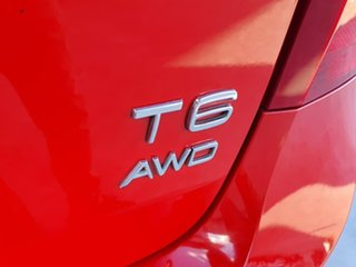 2011 Volvo S60 F Series T6 AWD Red 6 Speed Sports Automatic Sedan
