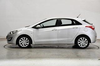 2014 Hyundai i30 GD2 Active Sleek Silver 6 Speed Sports Automatic Hatchback.