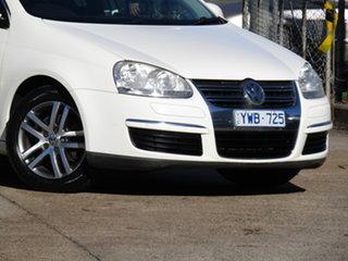 2007 Volkswagen Jetta 1KM MY07 FSI Tiptronic Alaska White 6 Speed Sports Automatic Sedan.