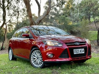 2012 Ford Focus LW Sport Candy Red 5 Speed Manual Hatchback.