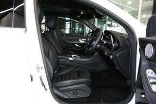 2018 Mercedes-Benz GLC-Class X253 809MY GLC250 d 9G-Tronic 4MATIC White 9 Speed Sports Automatic.