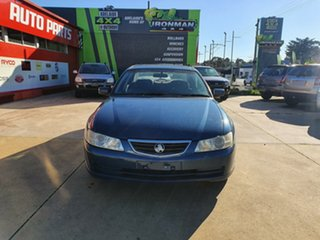 2003 Holden Commodore VY Equipe Blue 4 Speed Automatic Sedan