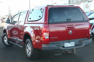 2013 Holden Colorado RG MY13 LX Crew Cab Red 6 Speed Sports Automatic Utility.