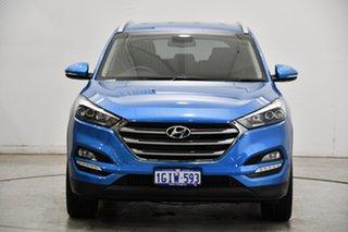 2017 Hyundai Tucson TL2 MY18 Elite D-CT AWD Blue 7 Speed Sports Automatic Dual Clutch Wagon.