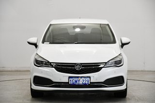 2017 Holden Astra BK MY18 RS-V White 6 Speed Sports Automatic Hatchback.