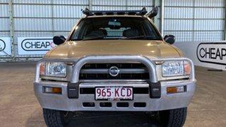2002 Nissan Pathfinder WX II MY2002 ST Bronze 4 Speed Automatic Wagon