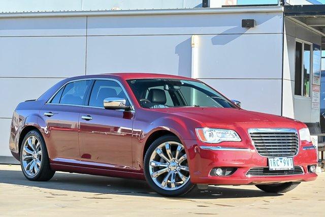 Used Chrysler 300 LX MY13 C E-Shift Luxury Pakenham, 2013 Chrysler 300 LX MY13 C E-Shift Luxury Red 8 Speed Sports Automatic Sedan
