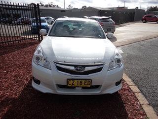 2010 Subaru Liberty MY11 2.5I Premium White Continuous Variable Wagon.